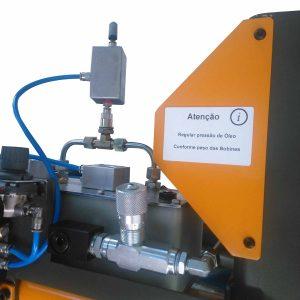Manipulação: rotação bobine hidropneumatica