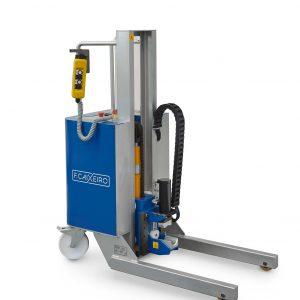 Manioulação - carro extrator rolos expansivo eletrico